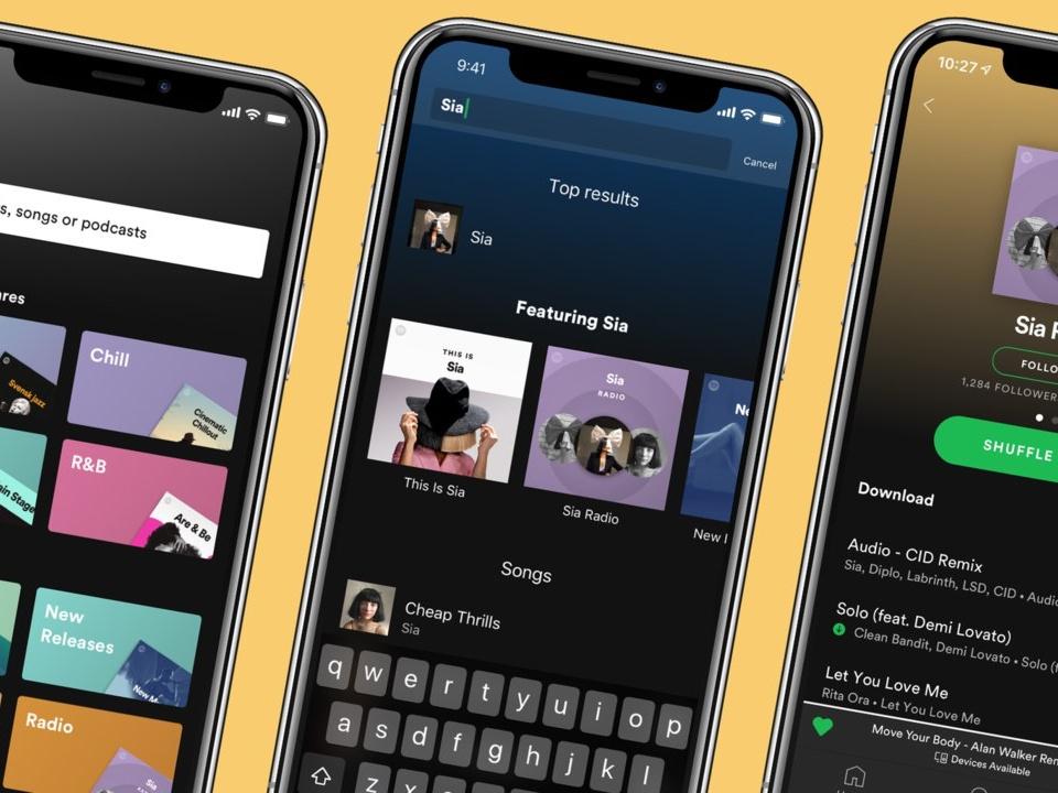Spotify Premium actualizacion