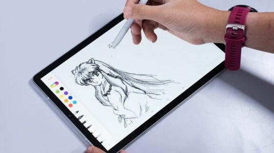 Galaxy Tab S4 dibujantes