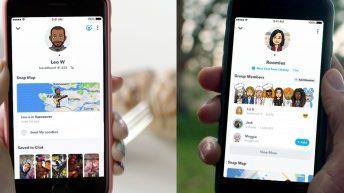 Snapchat perfiles de amistad