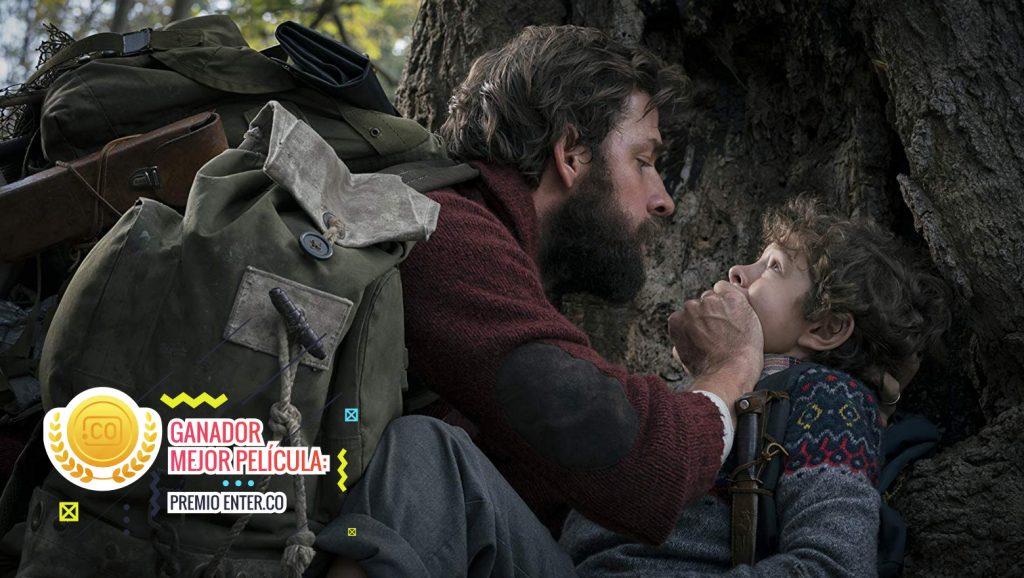 Ganadora mejor película 2018
