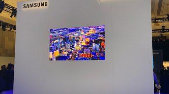 Micro LED Samsung CES 2019