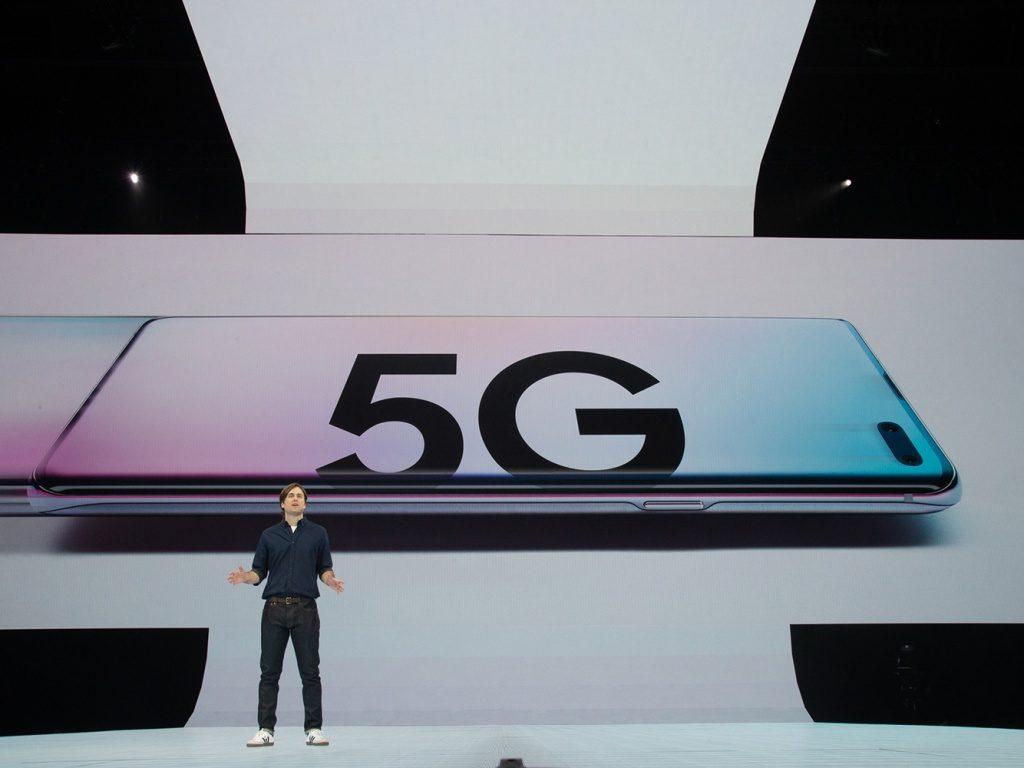Galaxy S10 5G redes