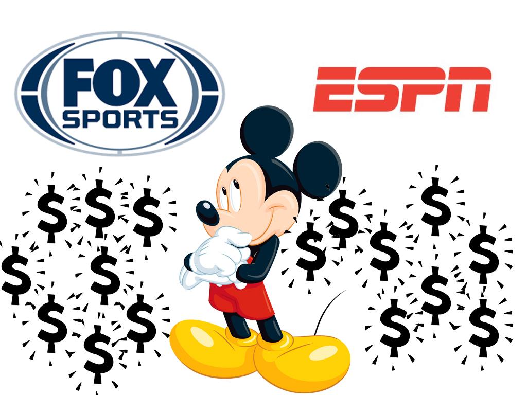 Disney Dueno De Espn Y Fox Sports Debe Vender Uno De Los Dos Enter Co