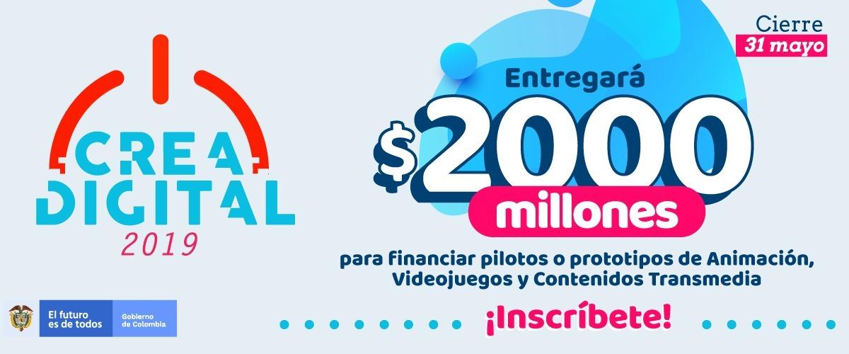 Crea Digital 2019