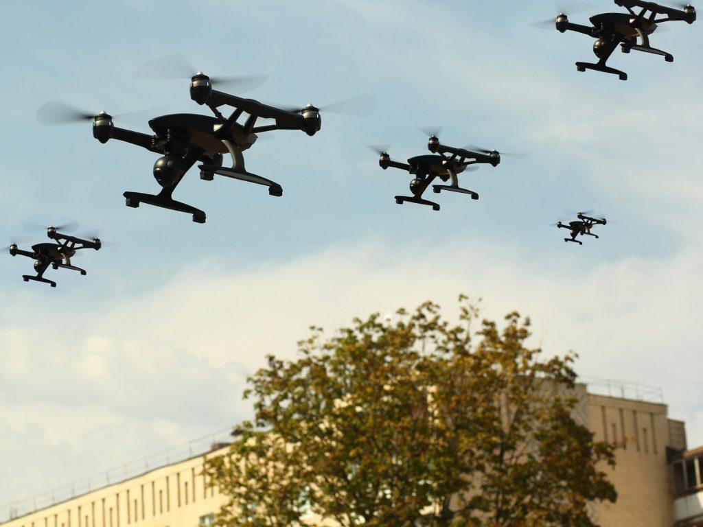 Experiencia Dron Campus Party. 2019