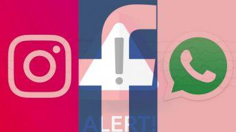 Instagram, Facebook y WhatsApp
