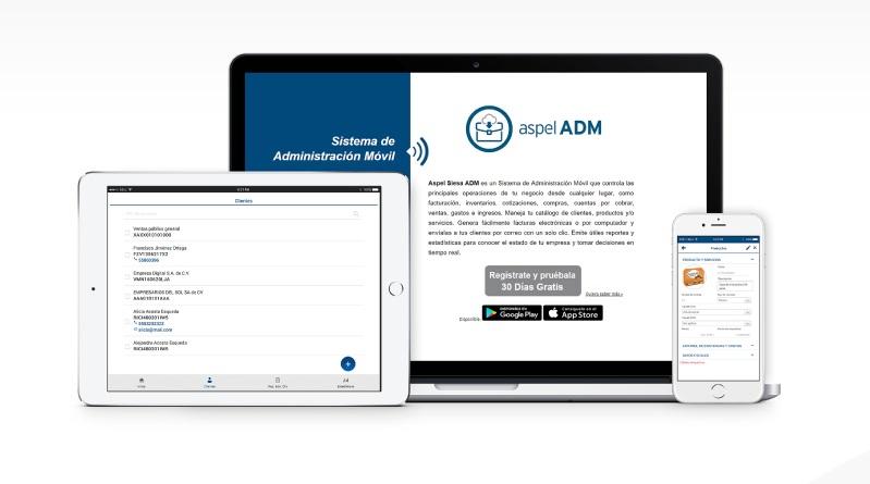 Aspel ADM facturación electrónica