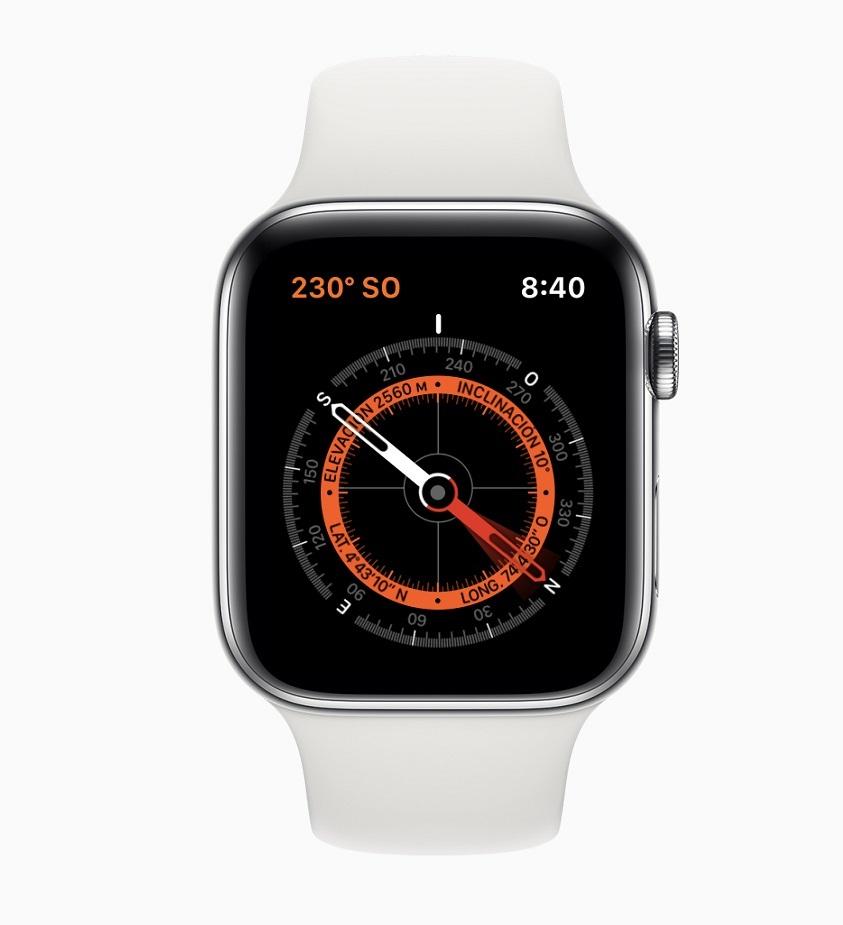 Brújula Watch 5