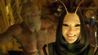 Drax y Mantis