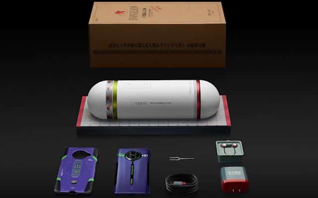smartphone de Evangelion