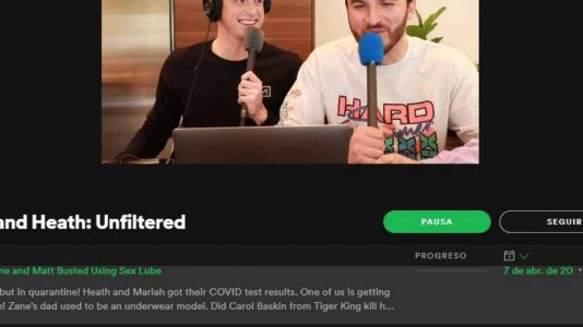 video podcast