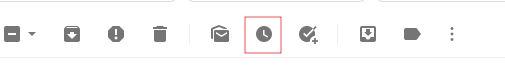 posponer correos en Gmail