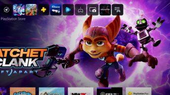 Interfaz de la PlayStation 5
