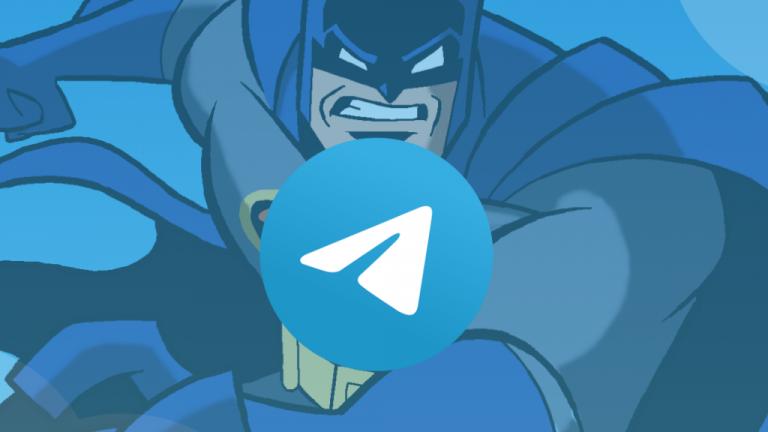 modo 'Batman' en Telegram