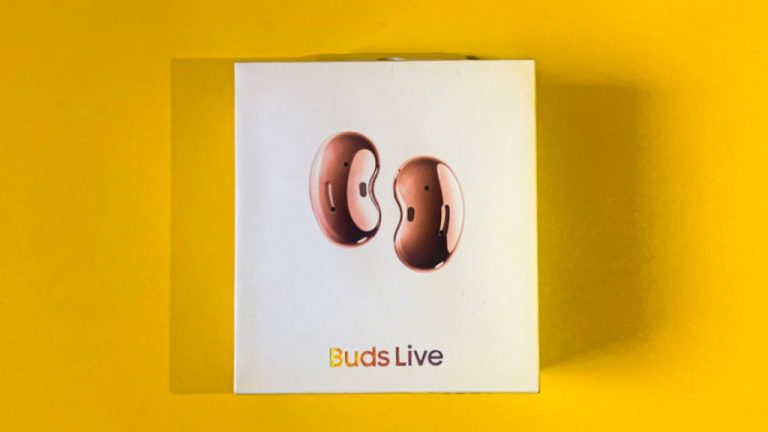 Unboxing Samsung Galaxy Buds Live