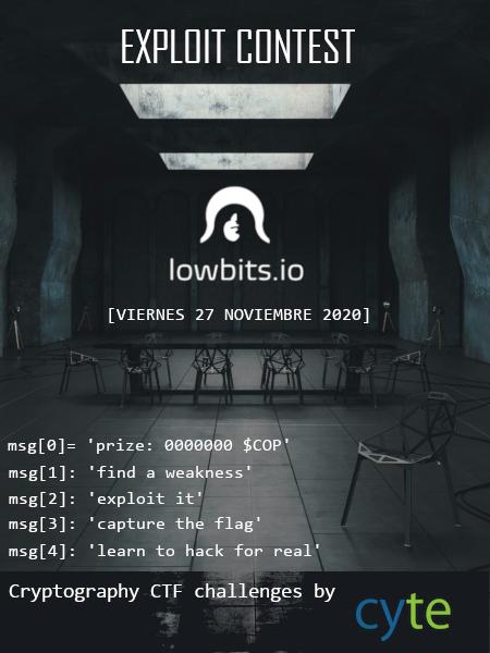 Hacking ético Lowbits.io y Cyte
