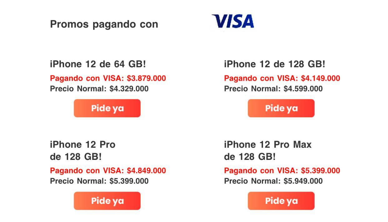 iPhone 12 precio y disponibilidad en Colombia