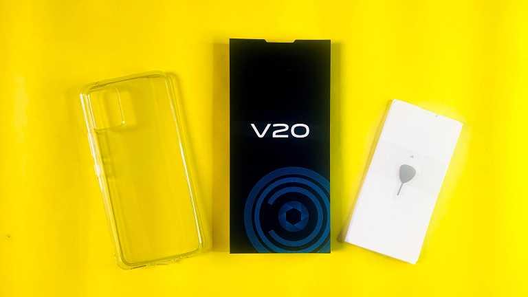Vivo V20 Unboxing