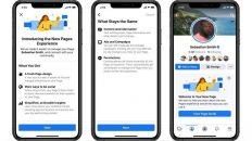 Páginas de Facebook nuevo diseño