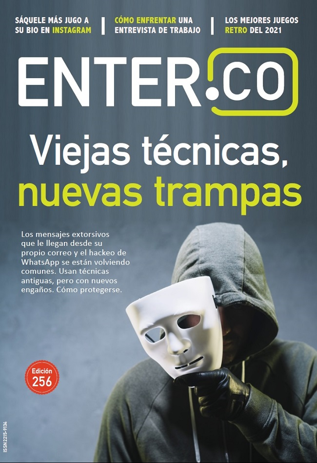 Portada revista ENTER 256