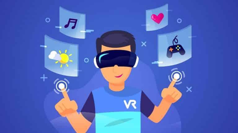 Apple VR set