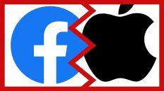 Facebook y Apple