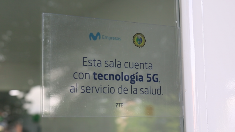 5G Movistar y Hospital Militar Central