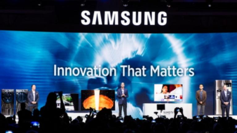 Samsung pantalla enrollable
