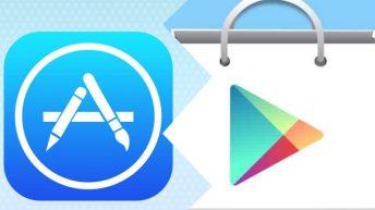 Tiendas de apps