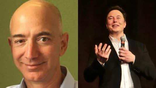 Jeff Bezos, Elon Musk