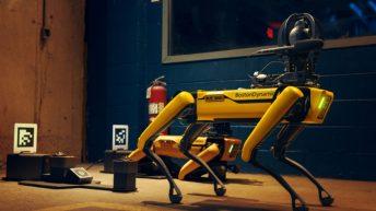 Robot Spot Boston Dynamics