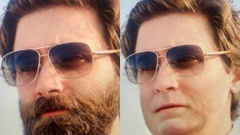 Filtro que quita la barba TikTok