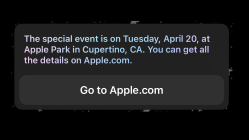 Evento de Apple