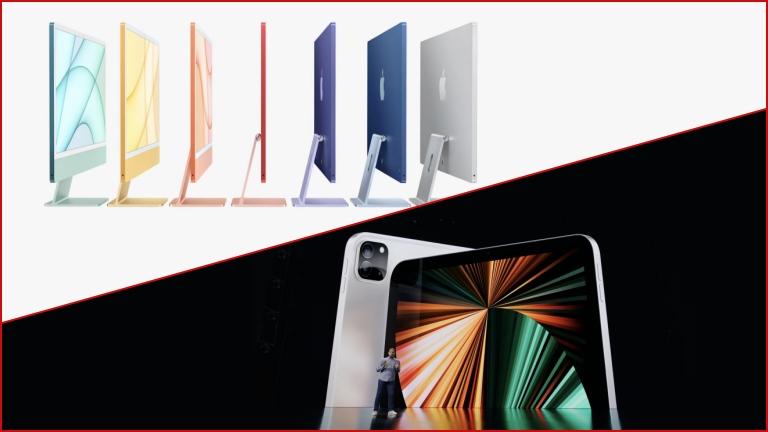 iPad Pro 2021 iMac 2021