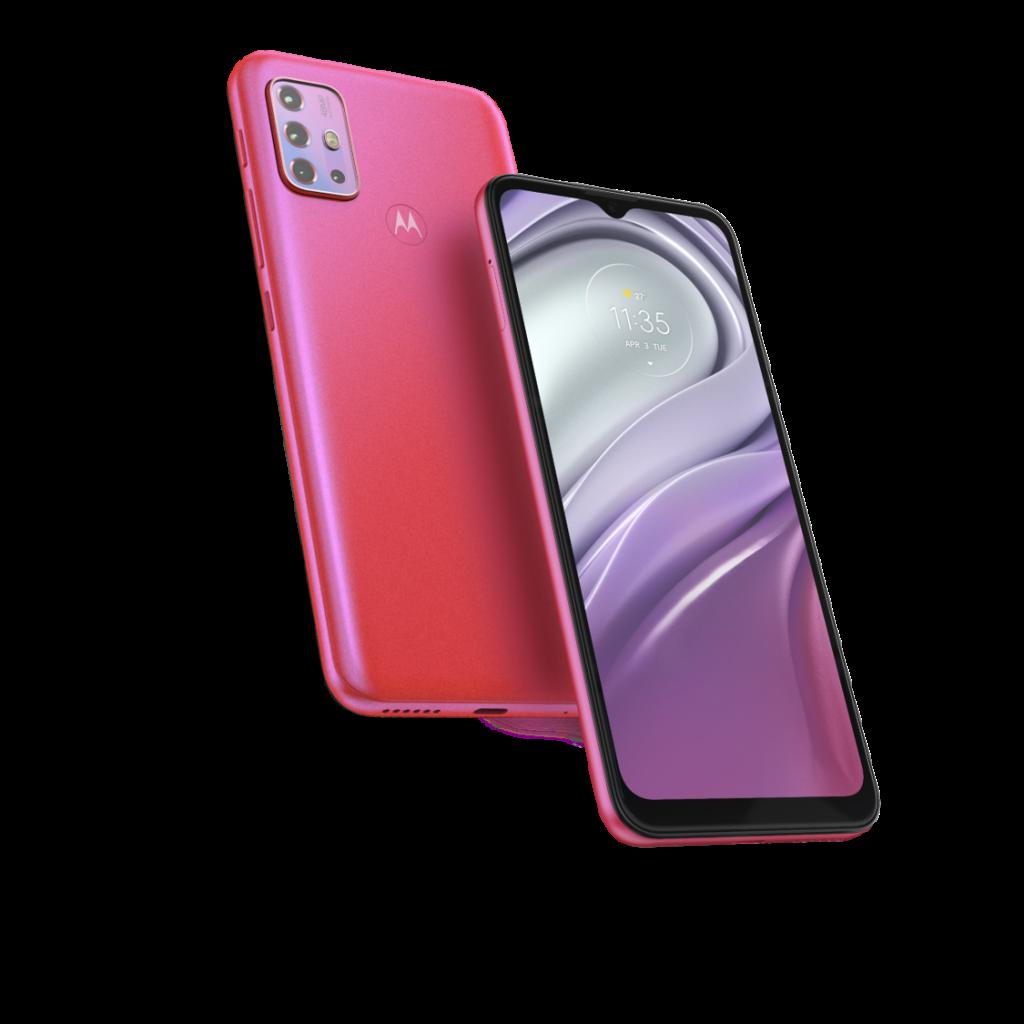 Celular Libre Motorola Moto G20 64GB Rosado