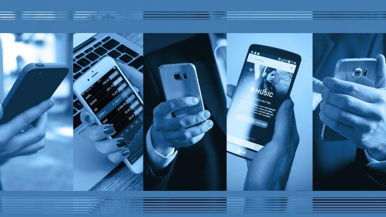 Despacho de celulares