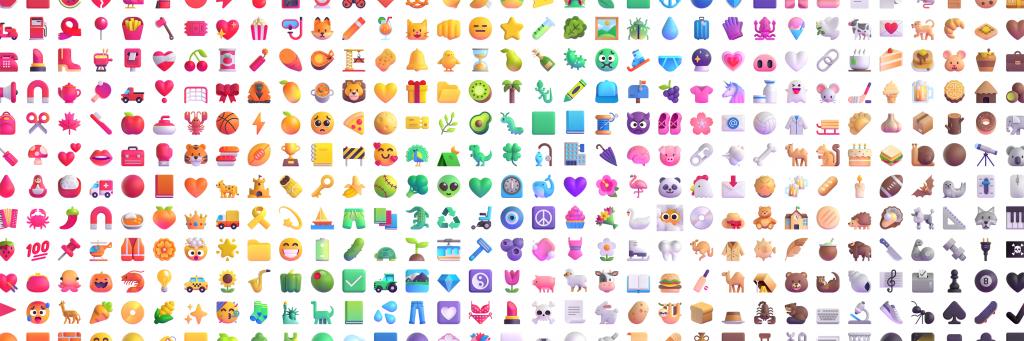 Emojis Microsoft