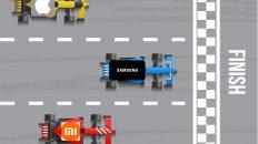 Xiaomi, Samsung, Apple