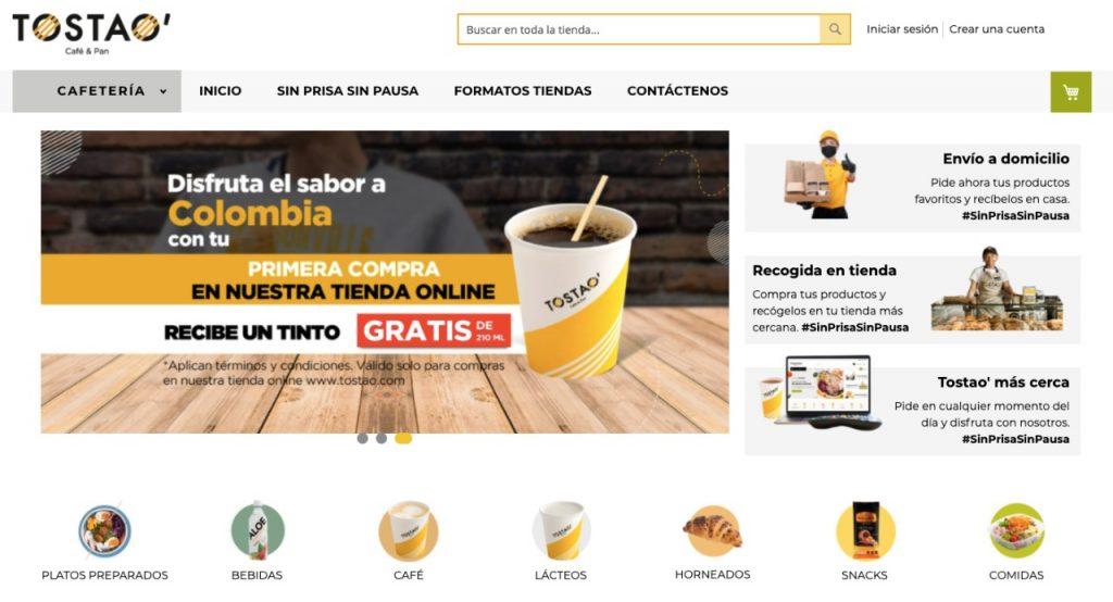 Tienda virtual Tostao'